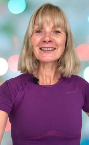 Susan Personal Trainer with Complementary Fitness